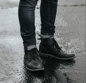 botas negras cangrejoperez
