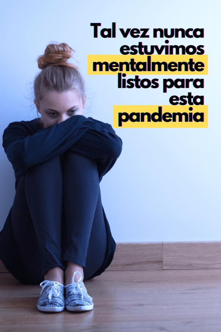 la salud mental y la pandemia
